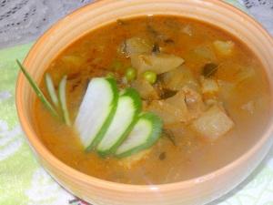 raw papaya curry