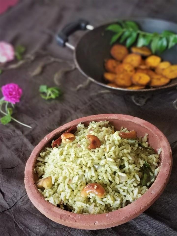 pudina rice/mint rice