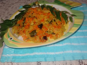 carrot cabbage side dish