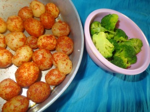 broccoli baby potatoes