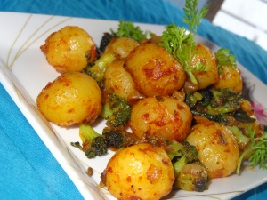 broccoli baby potatoes side dish