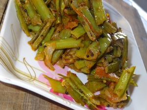 cluster beans side dish
