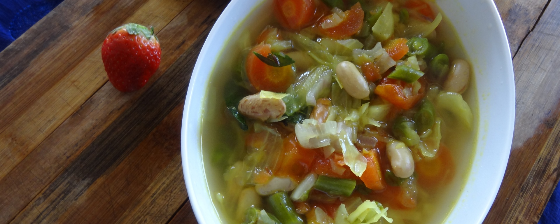 veg soup for winter