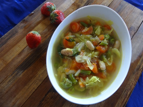 veg soup for winter
