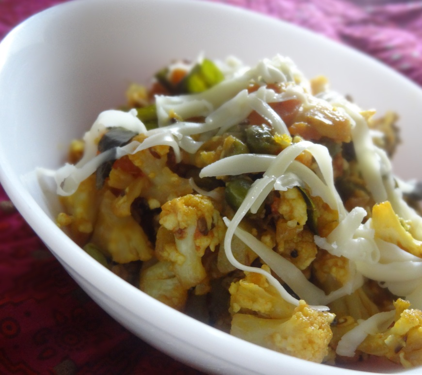 paneer mixed vegetable