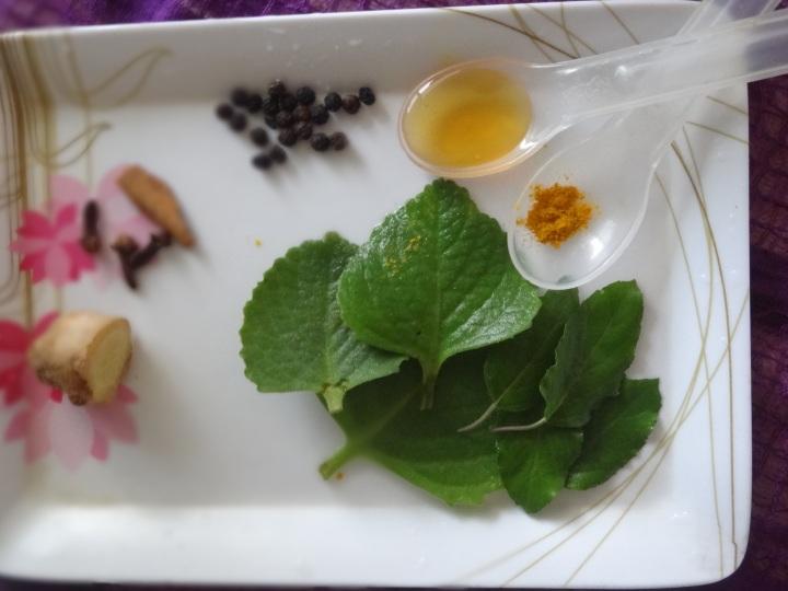 Kashayam Ingredients