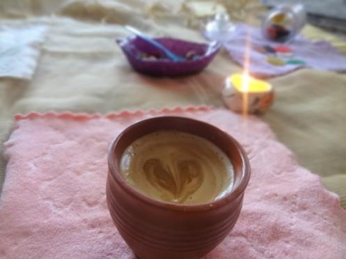 cappuccino, beaten coffee